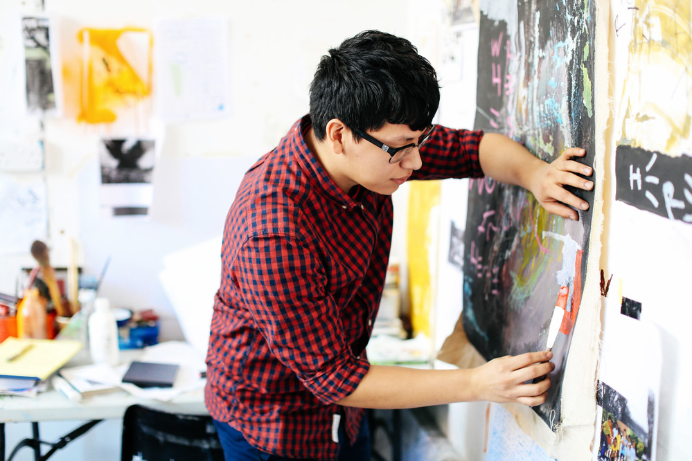 Andy Valencia, Foundation Diploma in Art and Design, Camberwell College of Arts
